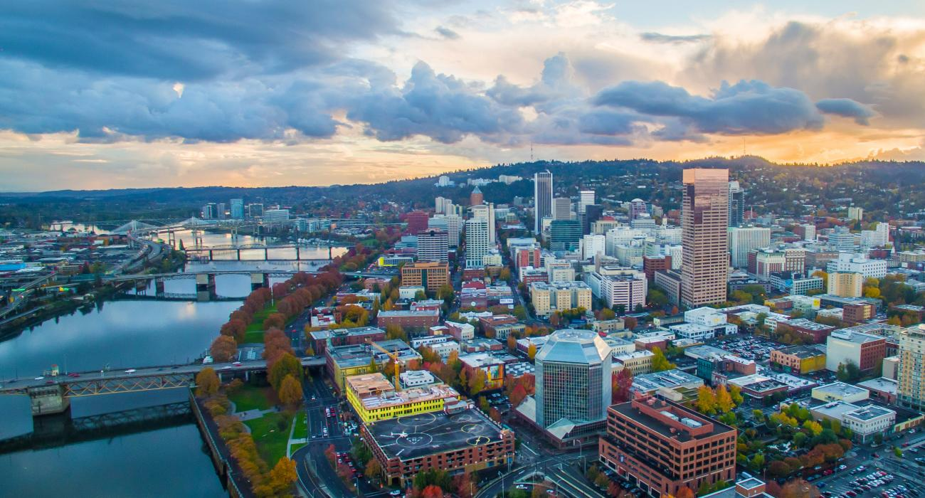 Portland and Oregon
